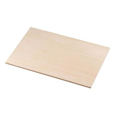 EBM 木製 ケーキめん台 小 450×300