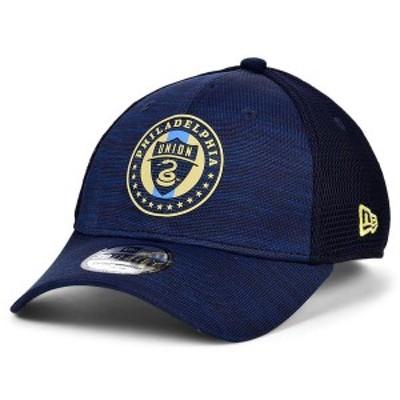 ニューエラ メンズ 帽子 アクセサリー Philadelphia Union   On-Field 39THIRTY Cap Navy