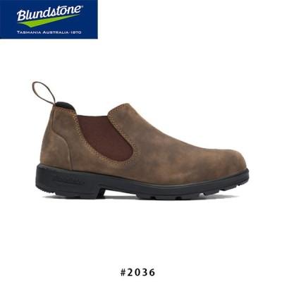 ブランドストーン BS2036 LOW-CUT Rustic Brown ラスティックブラウン レディース サイドゴア ブーツヌバック レザー BS2036267 Blundstone BS203626722