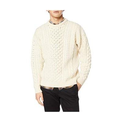 [アランウーレンミルズ] セーター A823 Traditional Aran Sweater メンズ 162 日本 S (日本サイズS相当