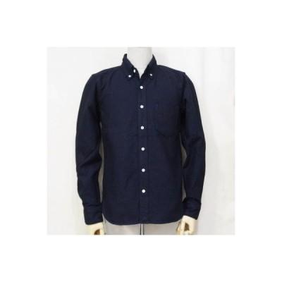 SJBD17-L01-インディゴ-ドビーオックスBDシャツ17-SJBD17L01-SAMURAIJEANS-サムライジーンズシャツ-ボタンダウンシャツ