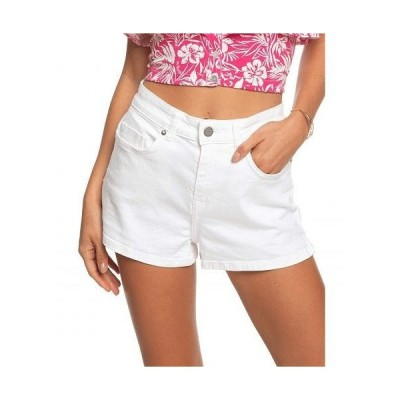 Roxy ロキシー レディース 女性用 ファッション ショートパンツ 短パン Free Memory - White