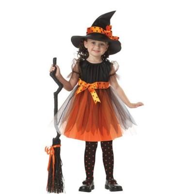 ハロウィン halloween コスプレ 衣装 子供 魔法使い 魔女 コスプレ