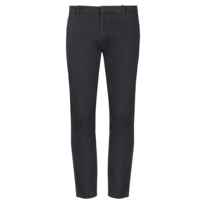 LHU URBAN パンツ ブラック 56 コットン 98% / ポリウレタン 2% パンツ