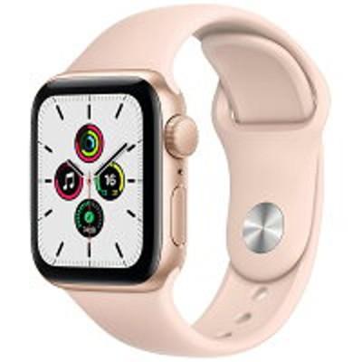 Apple Watch SE(GPSモデル)アップル-44mm ピンクスポーツバンド MYDR2J/A