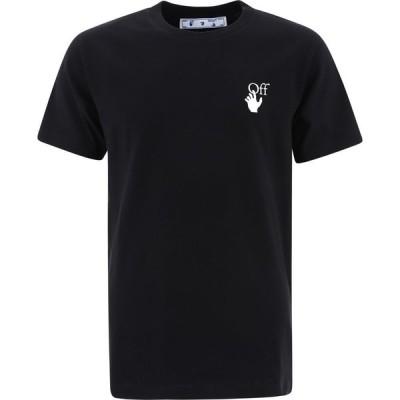 """オフホワイト Off-White メンズ Tシャツ トップス """"Spray Marker"""" T-Shirt Black"""