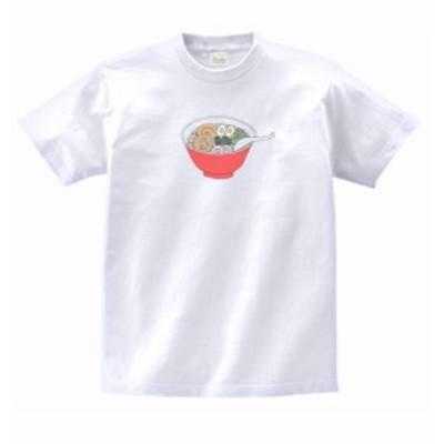 食べ物 野菜 Tシャツ ラーメン 白