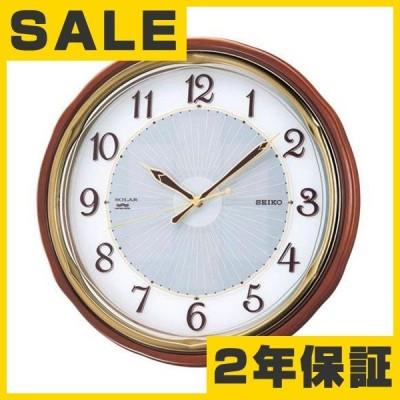 ソーラー時計 SEIKO セイコー 掛け時計 ソーラープラス 電波クロック 掛時計 SF221B