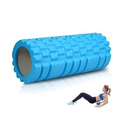 フォームローラー ヨガポール グリッドフォームローラー 筋膜リリース 適当な柔らかさ トレーニング スポーツ フィットネス ストレッチ器具