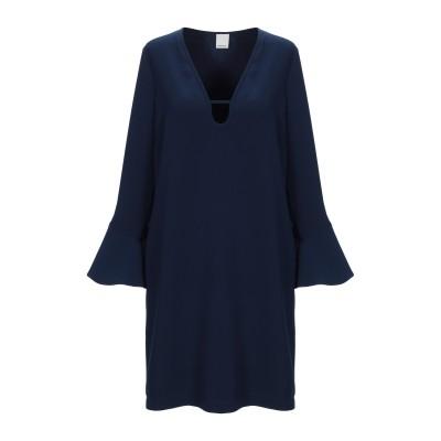 ピンコ PINKO ミニワンピース&ドレス ダークブルー 44 ポリエステル 100% ミニワンピース&ドレス