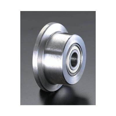 [ソリッドスチール製]レール用車輪[50×40mm(車輪径×幅)]