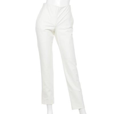 Rename (リネーム) レディース バック切替デザインパンツ ホワイト S