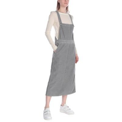 HAIKURE ジャンパースカート ライトグレー M コットン 100% ジャンパースカート