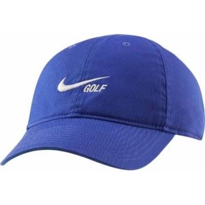 ナイキ メンズ 帽子 アクセサリー Nike Men's Heritage86 Washed Hat Lapis/Sail