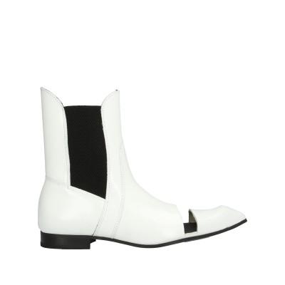 JOHN FLUEVOG® ショートブーツ ホワイト 4 革 ショートブーツ