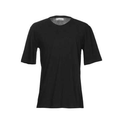 ラネウス LANEUS T シャツ ブラック S コットン 96% / ナイロン 4% T シャツ