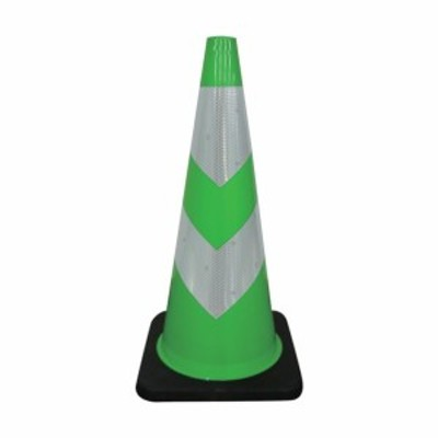 グリーンクロス ストロングコーン 緑/白 355 x 355 x 714 mm 1105300501 1点