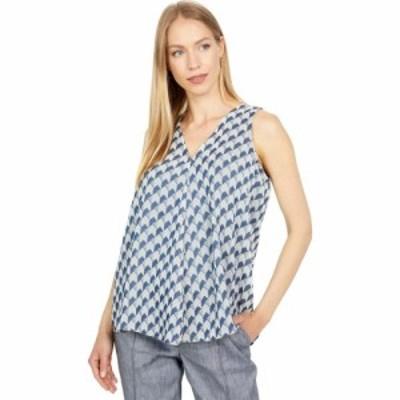 カルバンクライン Calvin Klein レディース ノースリーブ トップス Novelty Sleeveless Top Indigo Multi
