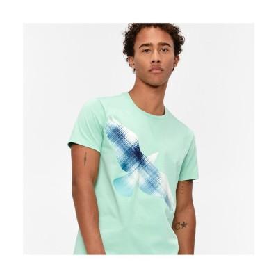 【エーグル】 吸水速乾 ロロディン Tシャツ メンズ グリーン M AIGLE