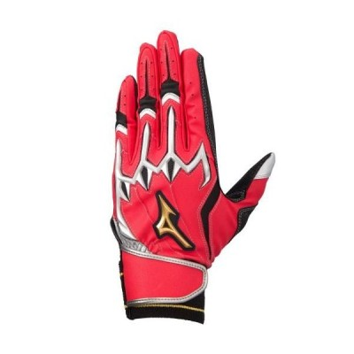 ミズノ(MIZUNO) ミズノプロ打者用手袋(両手用) シリコンパワーアークLI 1EJEA20062