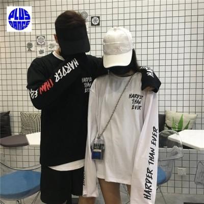 ダンス Tシャツ ロンT HIPHOP トレーナー HIPHOP 韓国 韓流 衣装 予約商品