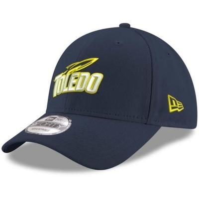 ユニセックス スポーツリーグ アメリカ大学スポーツ Toledo Rockets New Era Hyper 9FORTY Adjustable Hat - Navy - OSFA 帽子