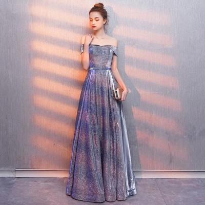 ウェディングドレス 二次会ドレス ロングドレス Aライン パーティードレス 結婚式 イブニングドレス 大きいサイズ 演奏会 カラードレス お花嫁ドレス 姫系