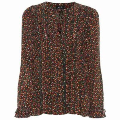 アーペーセー ブラウス・シャツ Printed silk blouse Multicolore