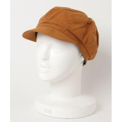 帽子 ハット F&D : フェイクスウェードキャスケット