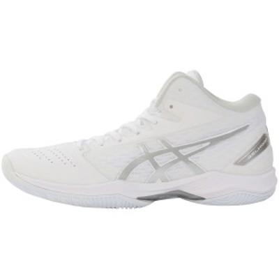 【セール】 アシックス バスケットボール シューズ GELHOOP V11 1061A015.119 WHITE/SV