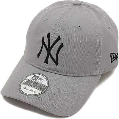 ニューエラ ニューヨーク・ヤンキース NEWERA メンズ レディース 9TWENTY Cloth Strap Washed Cotton GRY/BLK 11308522 SS16
