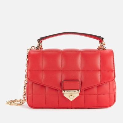 マイケル コース MICHAEL Michael Kors レディース ショルダーバッグ バッグ Soho Small Chain Shoulder Bag - Bright Red Red