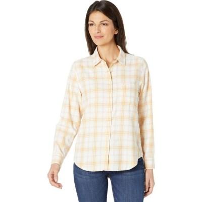 ラッキーブランド Lucky Brand レディース ブラウス・シャツ トップス Relaxed Shirt Yellow Multi