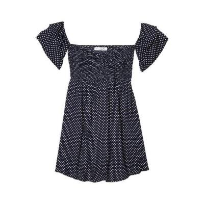 アメリカンローズ レディース ワンピース トップス Leanna Off-the-Shoulder Polka Dot Dress