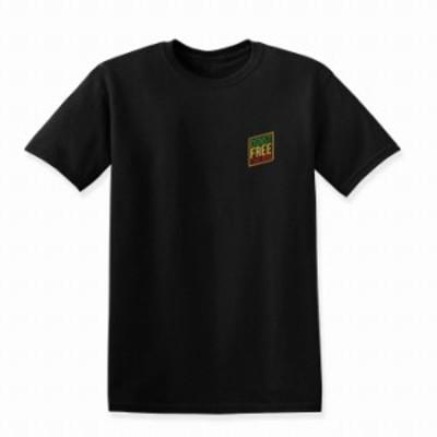 Tシャツ ブラック 黒 シンプル 大きいサイズ 大人 ユニセックス メンズ レディース ビッグシルエット 半袖 ロンT 夏 かっこいい スケータ