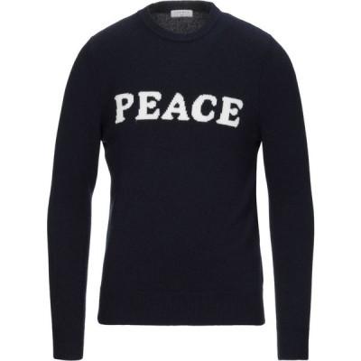 サンドロ SANDRO メンズ ニット・セーター トップス sweater Dark blue