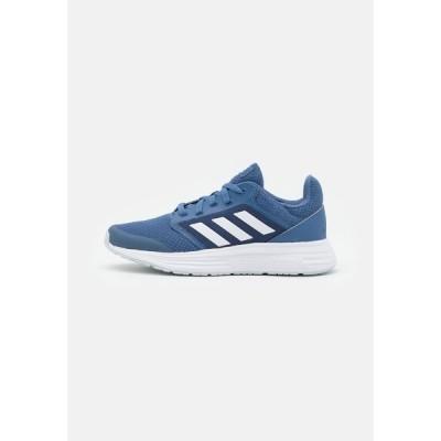 アディダス シューズ レディース ランニング GALAXY 5 - Neutral running shoes - crew blue/footwear white/halo blue