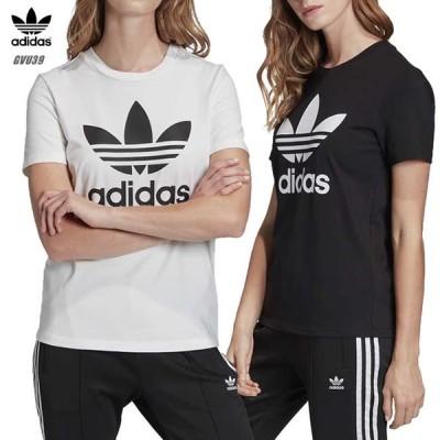 アディダス Tシャツ レディース adidas トレフォイル FM3306 FM3311