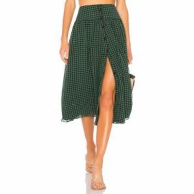 ハウスオブハーロウ1960 その他スカート x REVOLVE Jani Skirt Forest Green