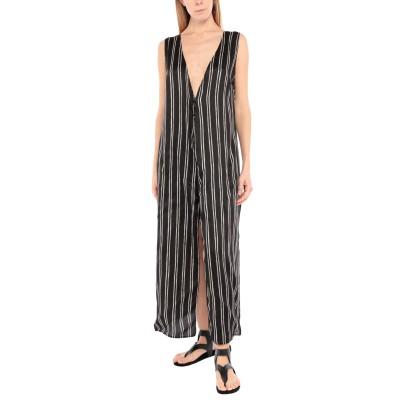 F**K PROJECT ビーチドレス ブラック S/M ポリエステル 100% ビーチドレス
