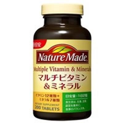 ネイチャーメイド マルチビタミン&ミネラルファミリーサイズ 200粒(配送区分:B)