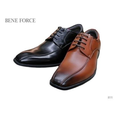 BENE FORCE ベネフォース 8111 メンズ ビジネスシューズ スワールモカシン