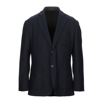 バーブァー BARBOUR テーラードジャケット ダークブルー L ウール 60% / ポリエステル 40% テーラードジャケット