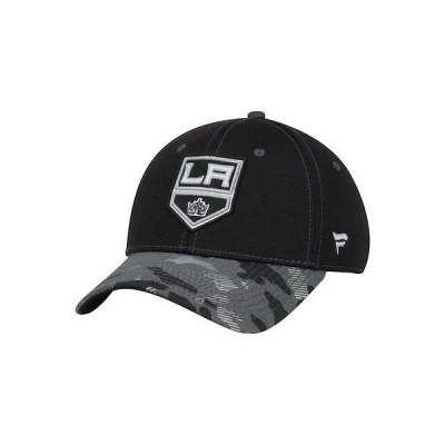 ホッケー NHL ファナティクス ブランド Los Angeles Kings Black Camo Adjustable Hat