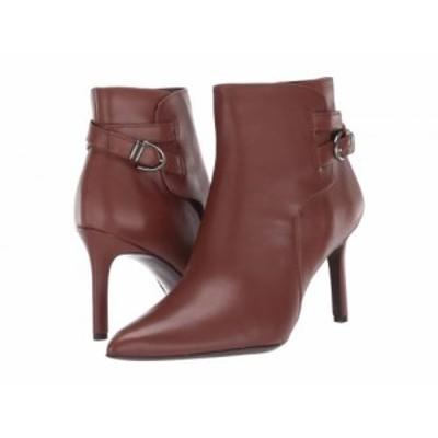 Naturalizer ナチュラライザー レディース 女性用 シューズ 靴 ブーツ アンクル ショートブーツ Alaina Cinnamon Leather【送料無料】