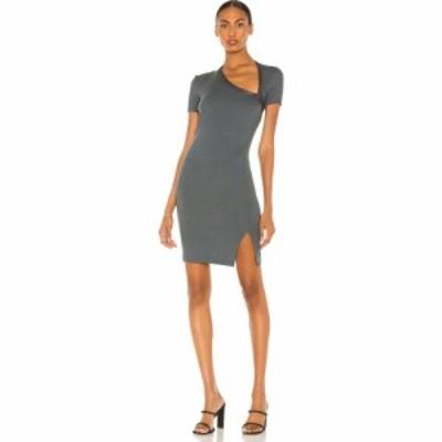 ジョン エリオット JOHN ELLIOTT レディース ワンピース ワンピース・ドレス Slinky Asymmetrical Dress Steel