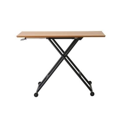 リフティングテーブル リフティングテーブル 昇降式テーブル 木製テーブル テーブル 机 木製リビングテーブル ダイニングテーブル 作業台 作業