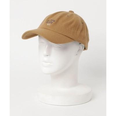帽子 キャップ 【HAPPY HALEIWA】メルトンキャップ