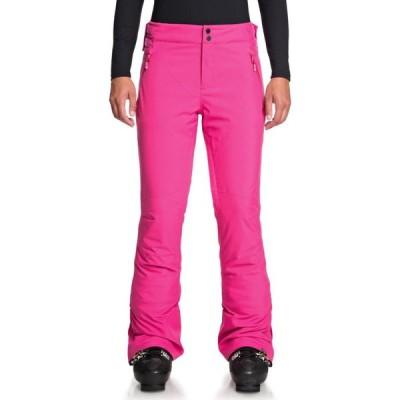 ロキシー Roxy レディース スキー・スノーボード ボトムス・パンツ Montana Pants Beetroot Pink