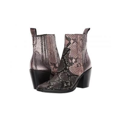 Steve Madden スティーブマデン レディース 女性用 シューズ 靴 ブーツ アンクルブーツ ショート Geniva Western Bootie - Metallic Multi
